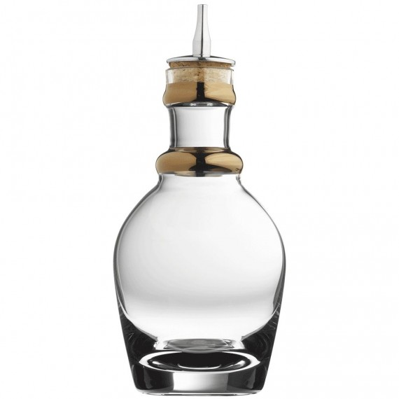 Bitters Bottle Georgian with Copper Band 200ml