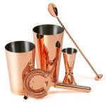 Cocktail Set Copper Plated 5 piece