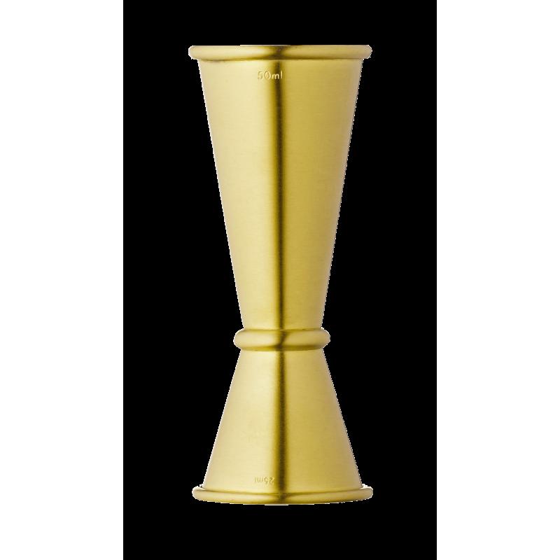 Japanese Ginza Jigger 25ml 50ml Gold