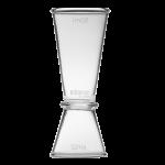 Glass Jigger 25/50ml