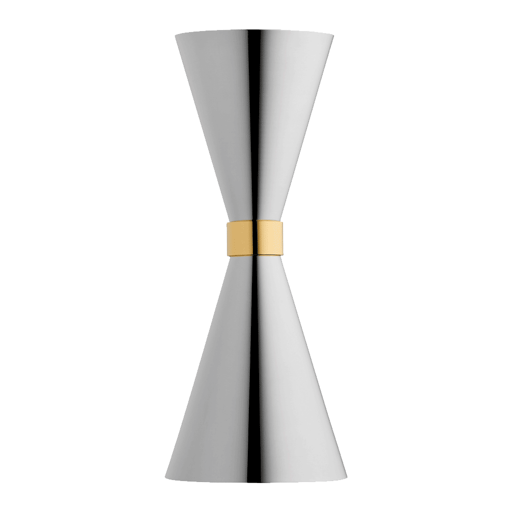 Jigger Mr Slim - Stainless Steel Gold Ring 45ml 30ml
