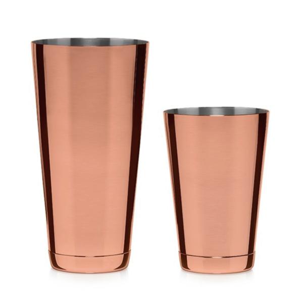 Koriko Copper boston shaker tins
