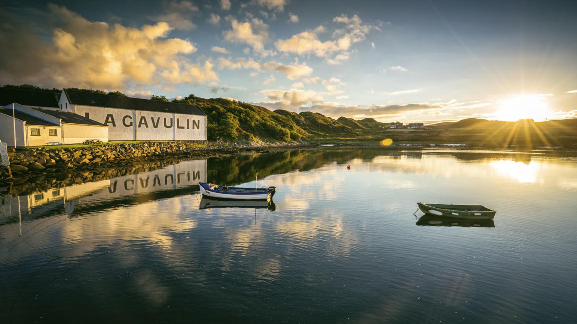 Lagavulin Distillery Scotland