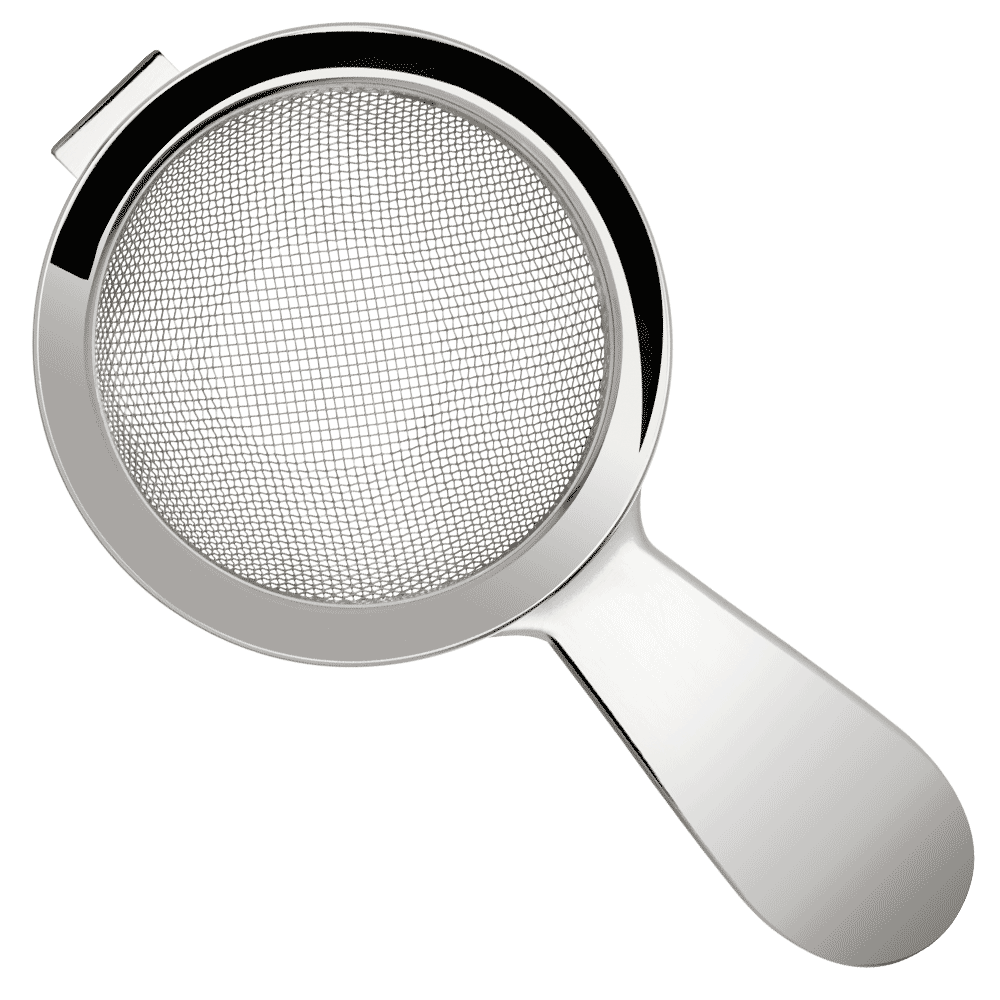 Strainer Fine - Stainless Steel Short Handle