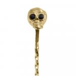 Barspoon Skull Gold 33cm