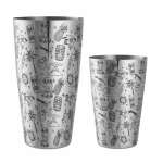 Boston Shaker Tins Tiki Set