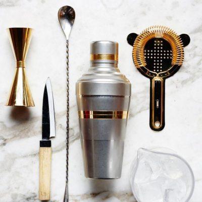 home bartender cocktail equipment