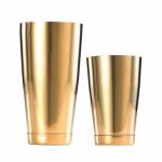 Boston Shaker Tins Gold
